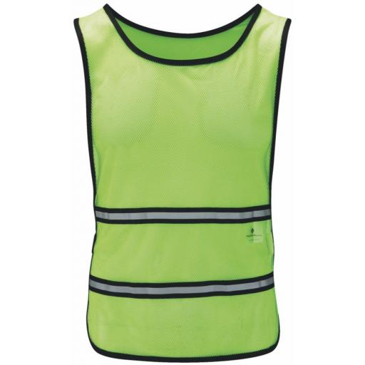 Ronhill Run Bib Hi-Viz Vest for Running & Cycling - Yellow