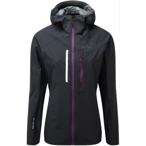 Ronhill Womens Stride Rainfall Waterproof Running Jacket