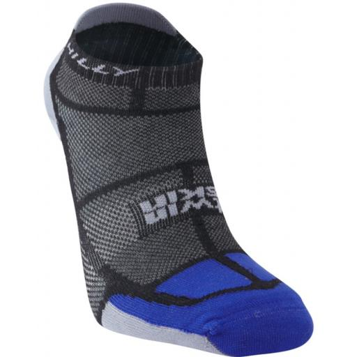 Hilly Mens Twin Skin Socklet Anti-Blister Sports Running Socks