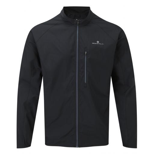 Ronhill Everyday Men's Lightweight Sports Running Wind Jacket - Black