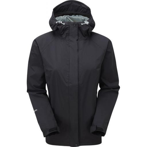 Sprayway Women's Atlanta Waterproof Jacket with Hood - Black