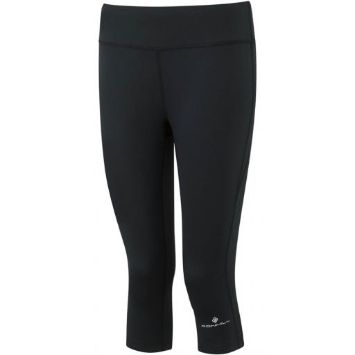 Ronhill Women's Core Run Running Capri - Black