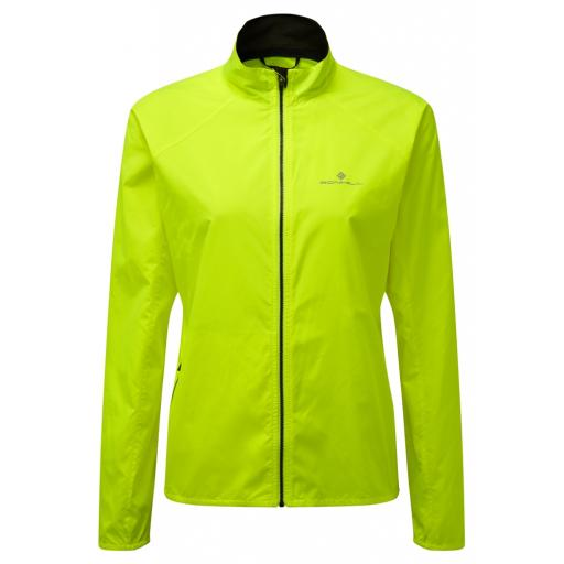 Ronhill Womens Everyday Running Wind Jacket - Yellow