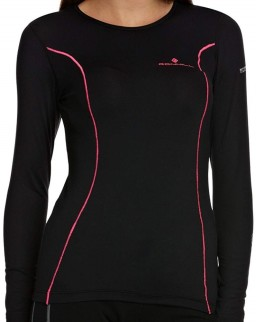 Ronhill Women's Base Thermal 100 Long Sleeve Tee, Technical Sports Running T-Shirt
