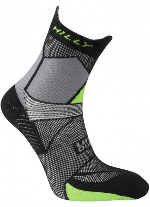 Hilly Ultra Marathon Fresh Anklet Polygiene Anti-Odour Trail Running Socks with Merino Wool