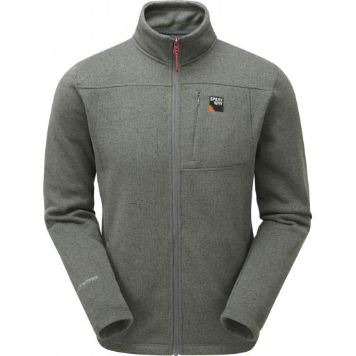 Sprayway Men's Minos Warm Fleece Jacket - Chrome