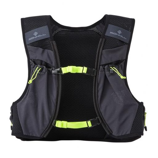 Ronhill Pioneer 8L vest_pack front Charcoal_Fluo_Yellow_1001.jpg