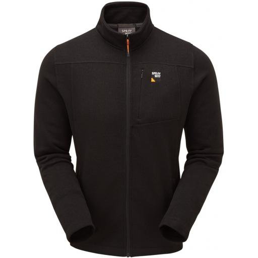 Sprayway Men's Minos Warm Fleece Jacket - Black