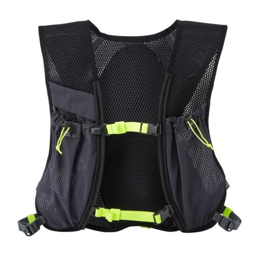 Ronhill Nano 3L vest_pack front_Charcoal_Fluo_Yellow_1001.jpg