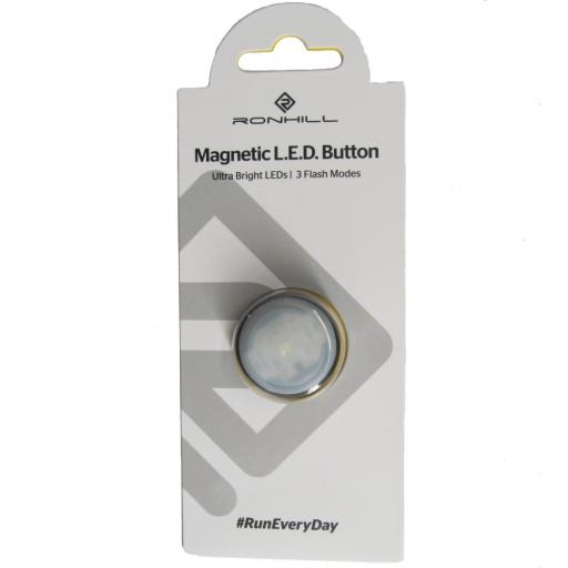 Ronhill Magnetic LED Button Extra Bright Flashing White Light