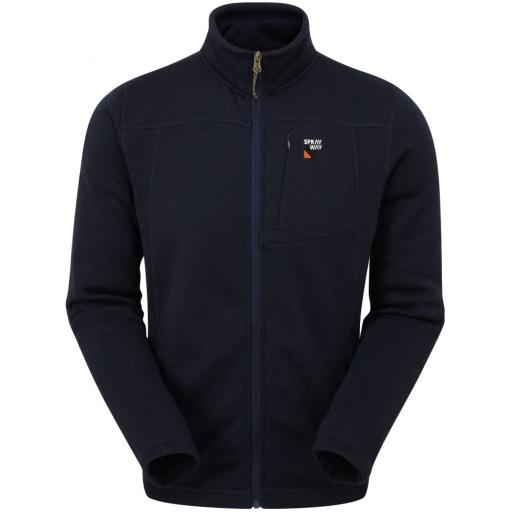 Sprayway Men's Minos Warm Fleece Jacket - Blazer Blue