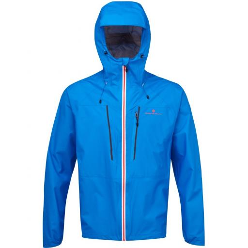 Ronhill Infinity Fortify Men's Waterproof Lightweight Running Jacket - Blue
