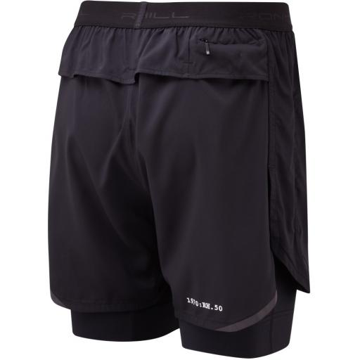 Ronhill Mens Stride Revive Twin Shorts_All_Black_rear_1001.jpg
