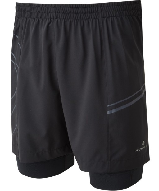 Ronhill Infinity Marathon Twin Short All_Black_front-1001.jpg
