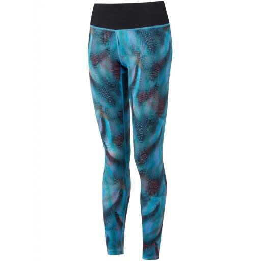 Ronhill Women's Momentum Casual Running Tights / Leggings - Blue