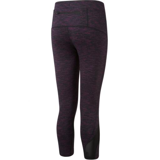 Ronhill Women's Infinity Crop Running Tights / Leggings - Black / Grape