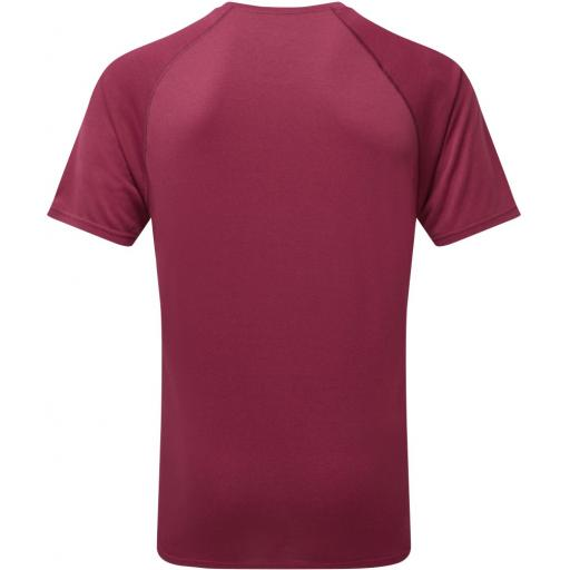 Ronhill Mens Everyday T-shirt_Rear_Mulberry_Marl_1001.jpg