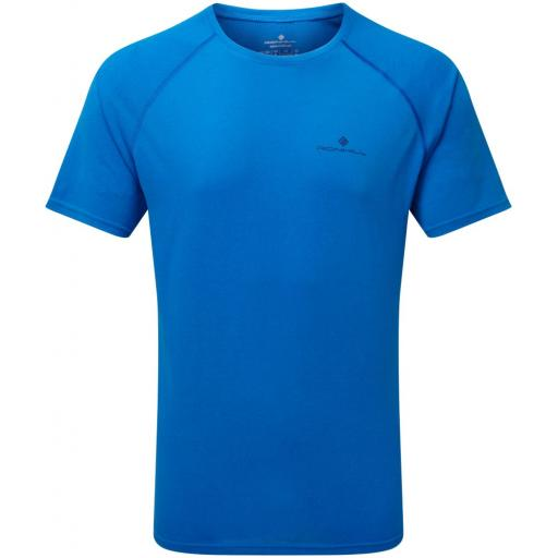 Ronhill Men's Everyday Short Sleeve Lightweight Running T-shirt - Blue
