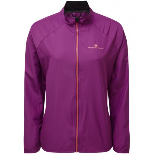 Ronhill Womens Everyday Running Wind Jacket - Grape