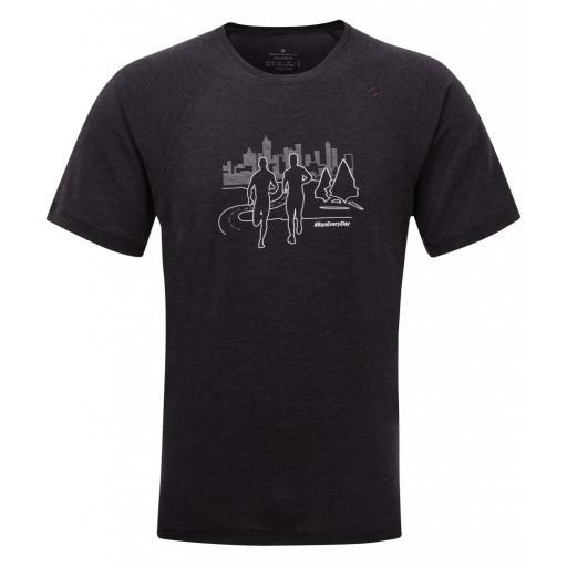 Ronhill Mens Momentum Tencel SS T-shirt_black_front_1001.jpg