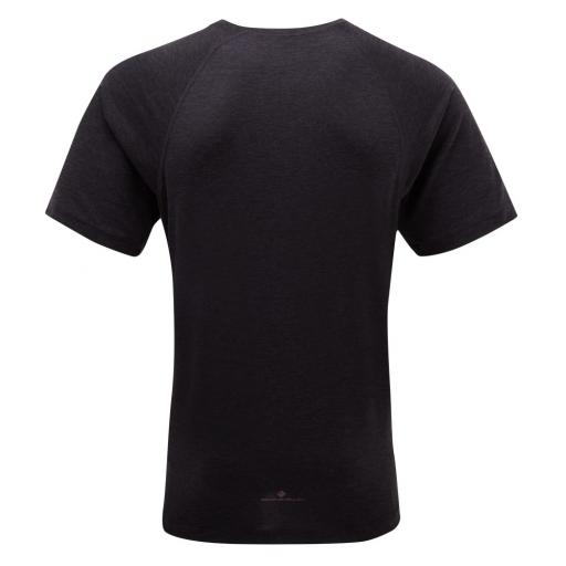 Ronhill Mens Momentum Tencel SS T-shirt_black_rear_1001.jpg