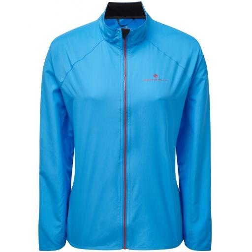 Ronhill Womens Everyday Running Wind Jacket - Blue
