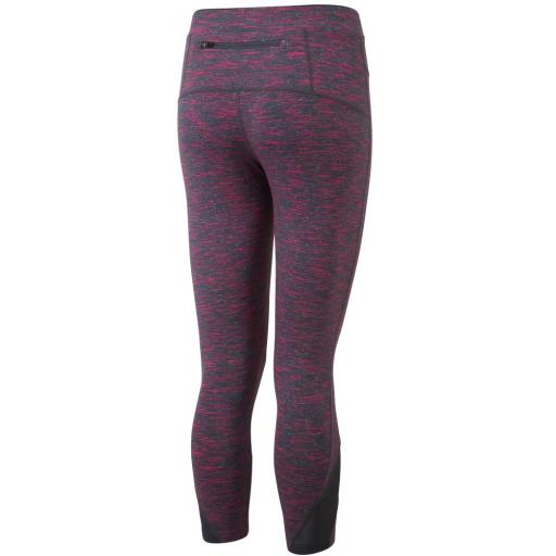 Ronhill Women's Infinity Crop Running Tights / Leggings - Cherry
