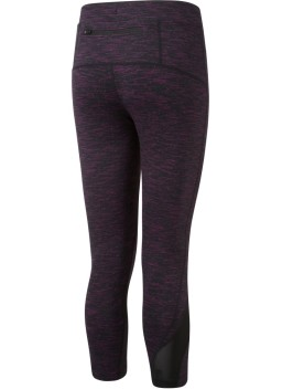 Ronhill Womens Infinity Crop Tight_Rear_Dark_Purple_Marl_1001.jpg
