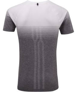 Ronhill Infinity t-shirt_White_Grey_Marl_rear.jpg
