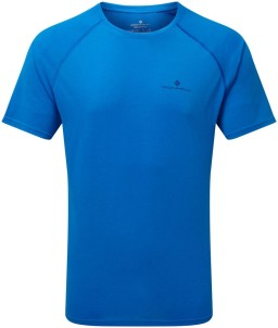 Ronhill Mens Everyday T-shirt_Front_Electric_Blue_Marl_1001.jpg