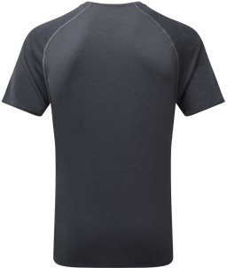 Ronhill Mens Everyday T-shirt_Rear_Charcoal_Marl_1001.jpg