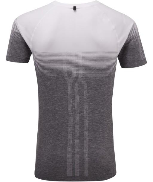 Ronhill Infinity t-shirt_White_Grey_Marl_rear.jpg