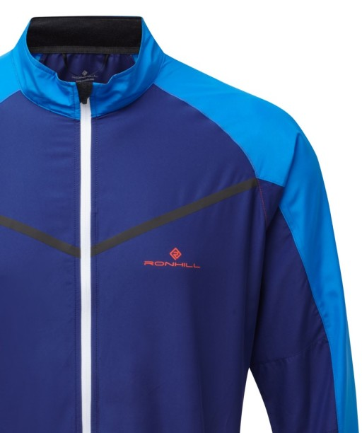 Ronhill Mens stride Windspeed Jacket_Mid-Blue_Electric_Detail_1001.jpg