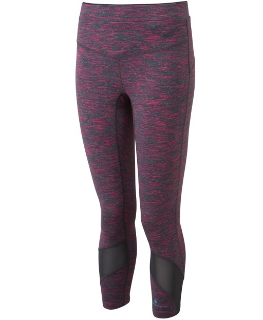 Ronhill Womens Infinity Crop Tight_Front_light_Purple_Marl_1001.jpg