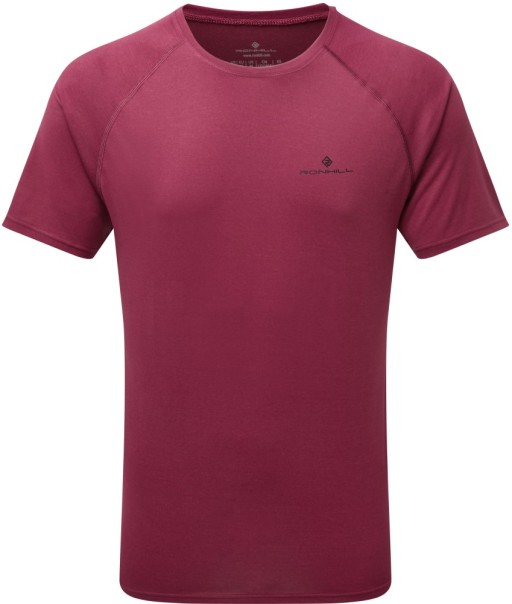 Ronhill Mens Everyday T-shirt_Front_Mulberry_Marl_1001.jpg