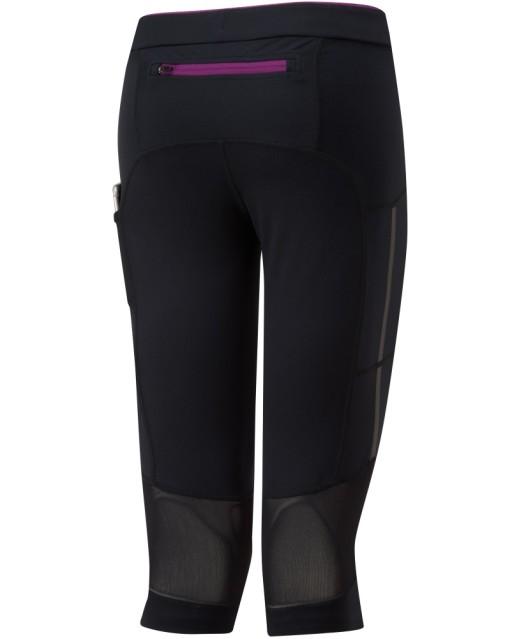 Ronhill Womens Stride Stretch Capri_Black_Grape_Rear20_1001.jpg