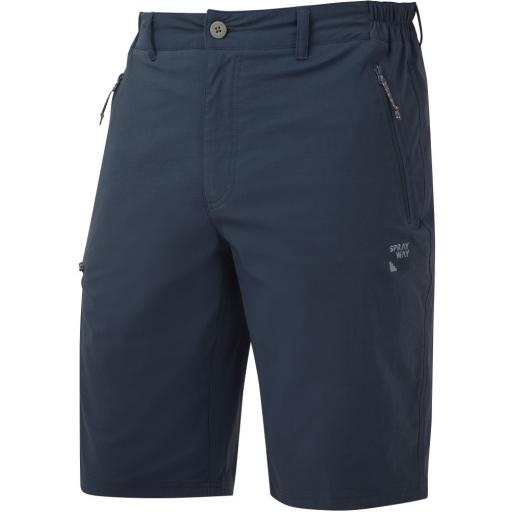 Sprayway Men's Compass Hiking and Travel Shorts - Blue