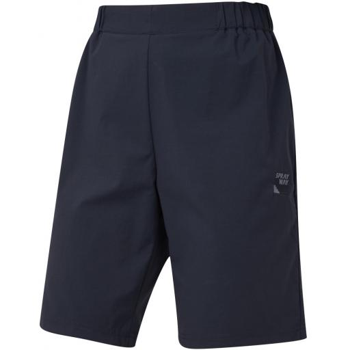 Sprayway Womens Escape SLIM Hiking and Travel Shorts - Blue