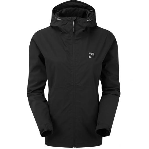 Sprayway Kyrre Womens Waterproof Hiking Jacket - Black