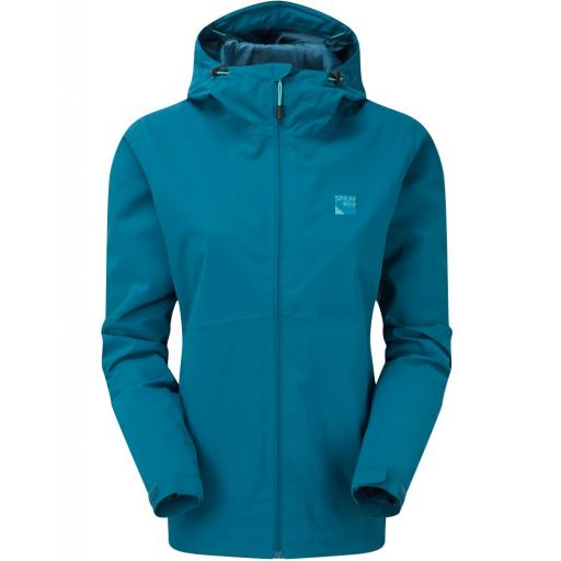 Sprayway Kyrre Womens Waterproof Hiking Jacket - Blue