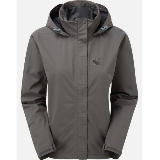 Sprayway Womens Gemini Lightweight Waterproof Hiking Jacket - Gray