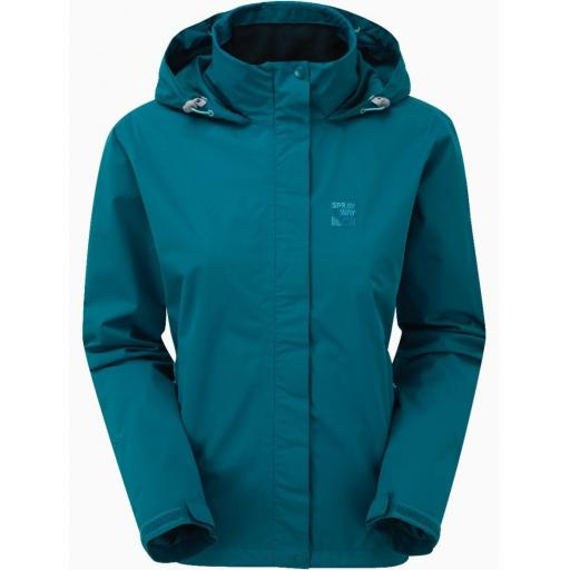 Sprayway Womens Gemini Lightweight Waterproof Hiking Jacket - Blue