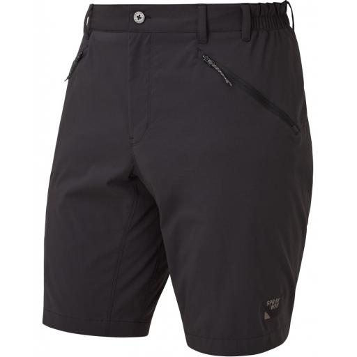 Sprayway Men's Compass Pro Hiking Shorts - Black