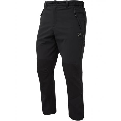 Sprayway Mens Compass Pro Pants Hiking Trousers - Black
