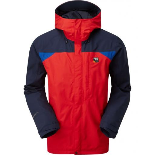 Sprayway Reaction Mens Waterproof Gore-Tex Hiking Jacket - Red