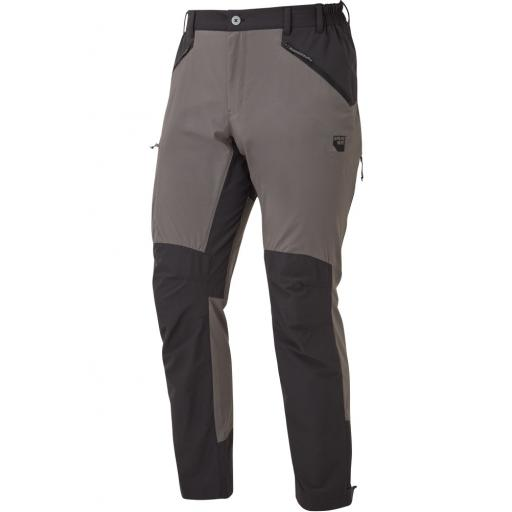 Sprayway Mens Compass Pro Pants Hiking Trousers - Grey / Black