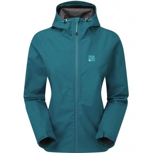Sprayway Kelo Womens Lightweight Waterproof Packable Gore-Tex Jacket - Blue