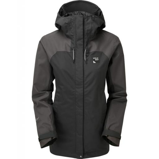 Sprayway Oust Womens Waterproof Hiking Jacket - Black