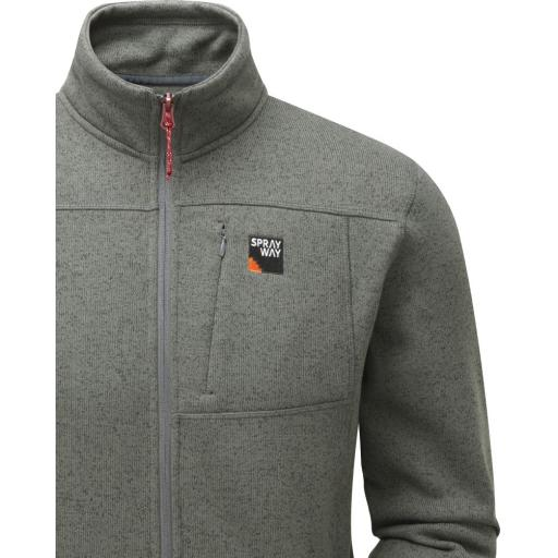 Sprayway Minos Fleece Full Zip Front_Chrome_Detail.jpg