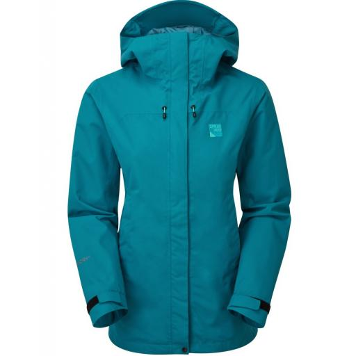 Sprayway Oust Womens Waterproof Hiking Jacket - Blue